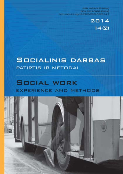 """Social work: experience and methods"" 2014 Nr.14 (2)"
