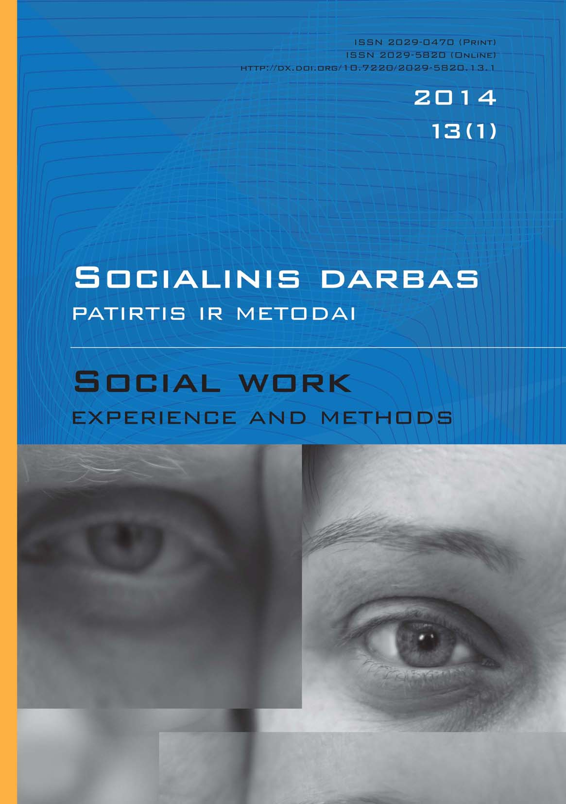 """Social work: experience and methods"" 2014 Nr.13 (1)"