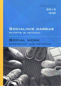 """Social work: experience and methods"" 2013 Nr.12 (2)"