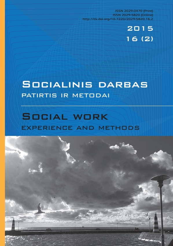 """Social work: experience and methods"" 2015 Nr.16 (2)"
