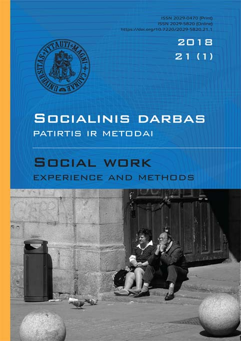 """Social work: experience and methods"" 2018 Nr.21 (1)"